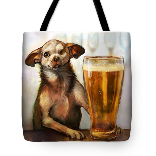 Pint Sized Hero Tote Bag