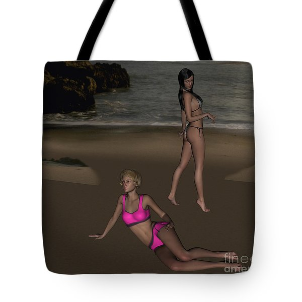 Pinups At Dusk Tote Bag