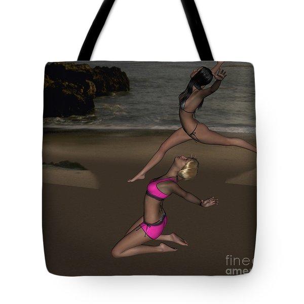 Pinups Dancing Tote Bag