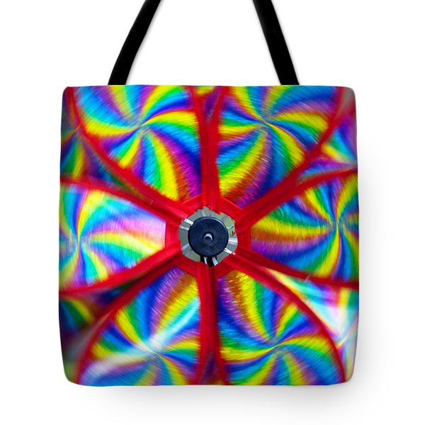 Pinwheel Tote Bag by Michal Boubin