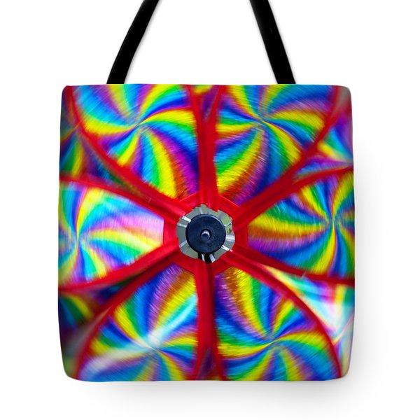 Pinwheel Tote Bag by Michal Boubin