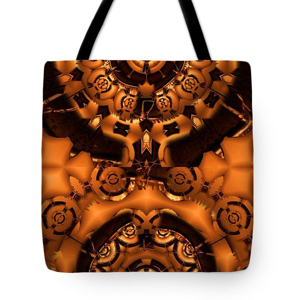 Pinyin Tote Bag by Ron Bissett