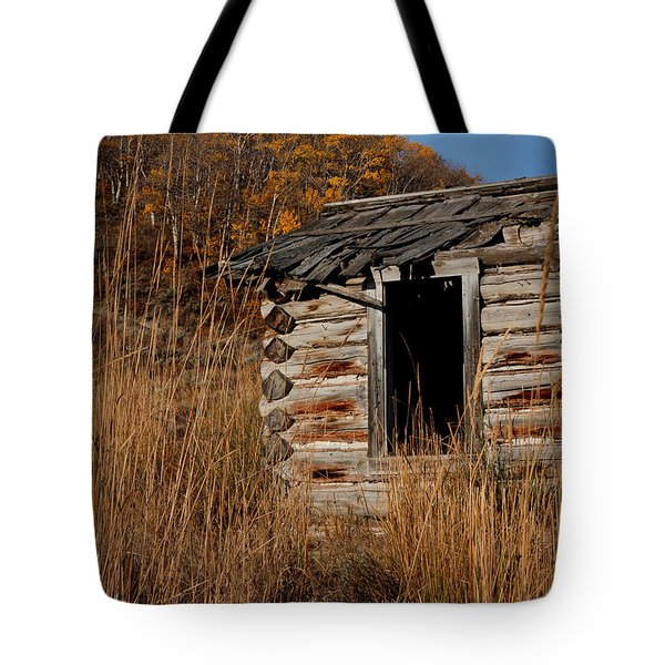 Pioneer Homestead Tote Bag by Idaho Scenic Images Linda Lantzy