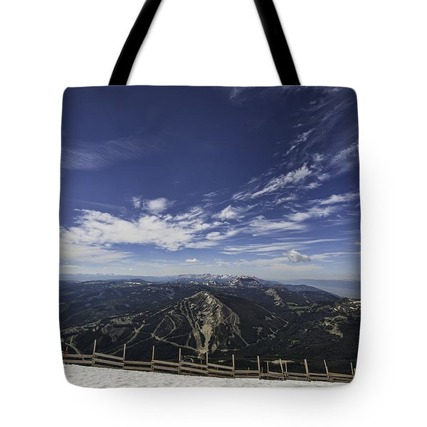 Pioneer Mountain Tote Bag