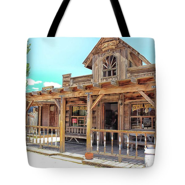 Pioneertown, Usa Tote Bag