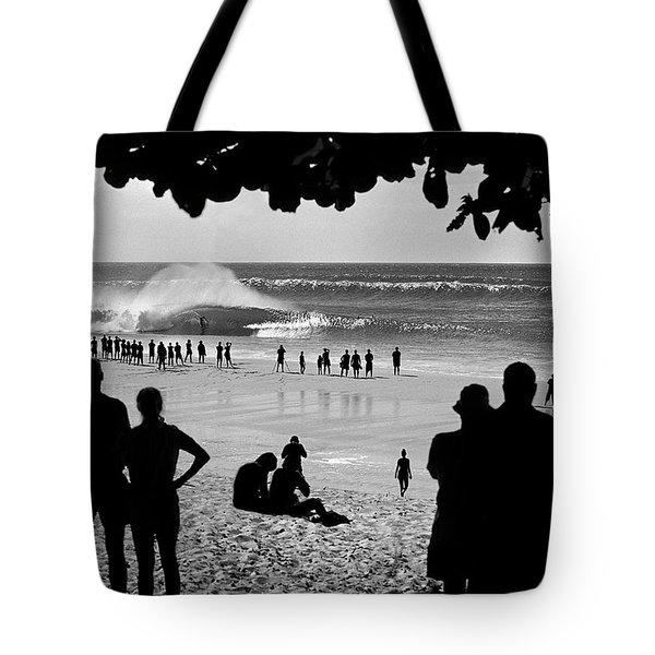 Pipe Arena Tote Bag by Sean Davey