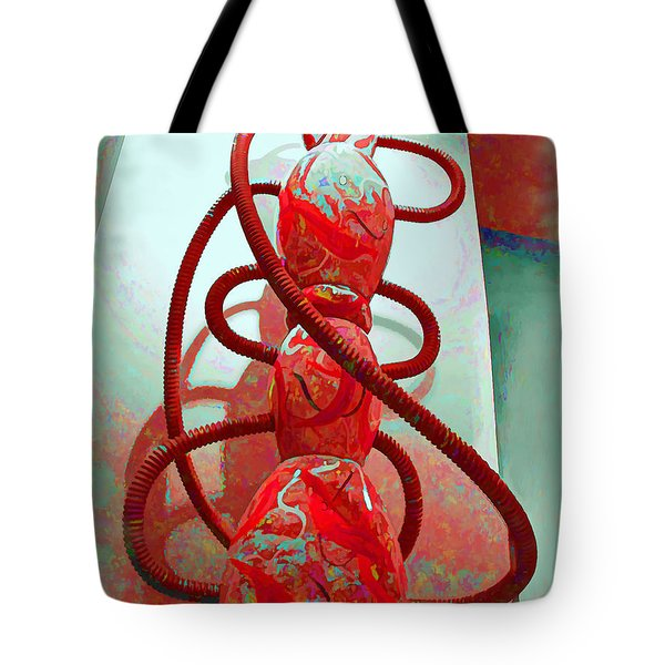 Pipe Dreams Tote Bag