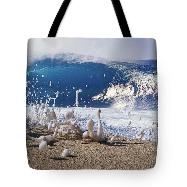 Pipe Foam Tote Bag