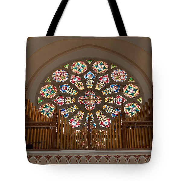 Pipe Organ - Church Tote Bag