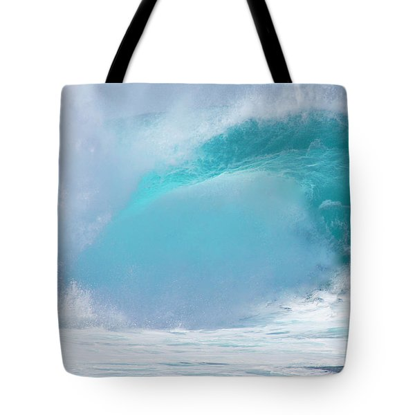 Pipeline First Reef Tote Bag by Kevin Smith