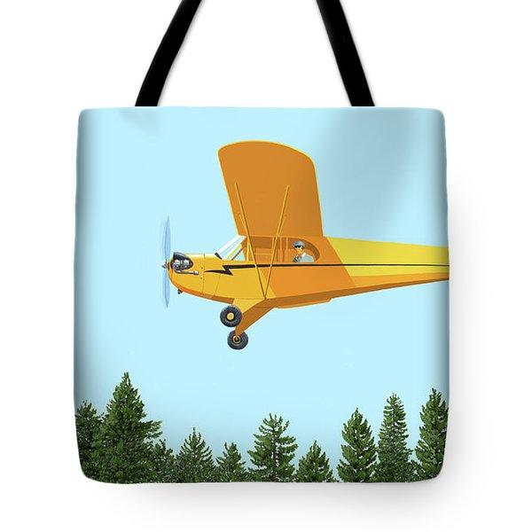 Piper Cub Piper J3 Tote Bag