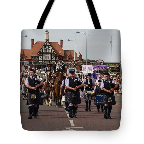 Pipers - St Annes Festival 2014. Tote Bag