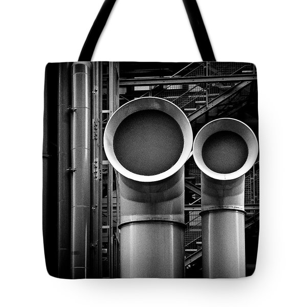 Pipes Tote Bag by Dave Bowman