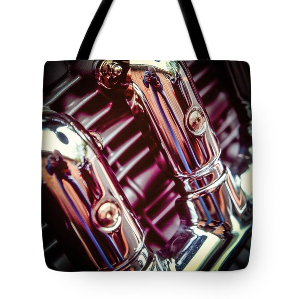 Tote Bag featuring the photograph Pipes by Samuel M Purvis III