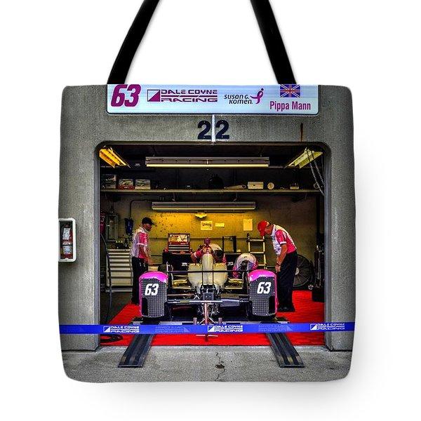 Pippa Mann Garage 2016 Tote Bag