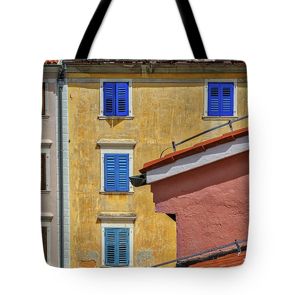 Tote Bag featuring the photograph Piran Colors - Slovenia by Stuart Litoff