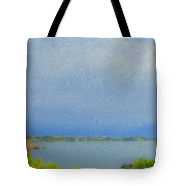 Pirate Cove Jamestown Ri Tote Bag
