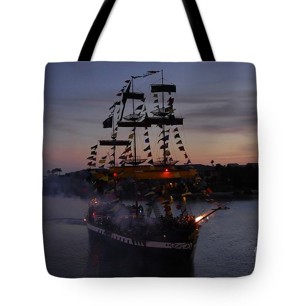 Pirate Invasion Tote Bag by David Lee Thompson