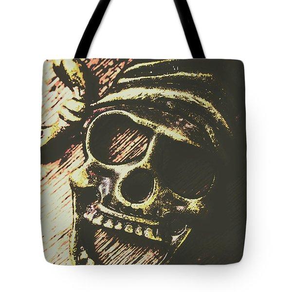 Pirate Metal Tote Bag