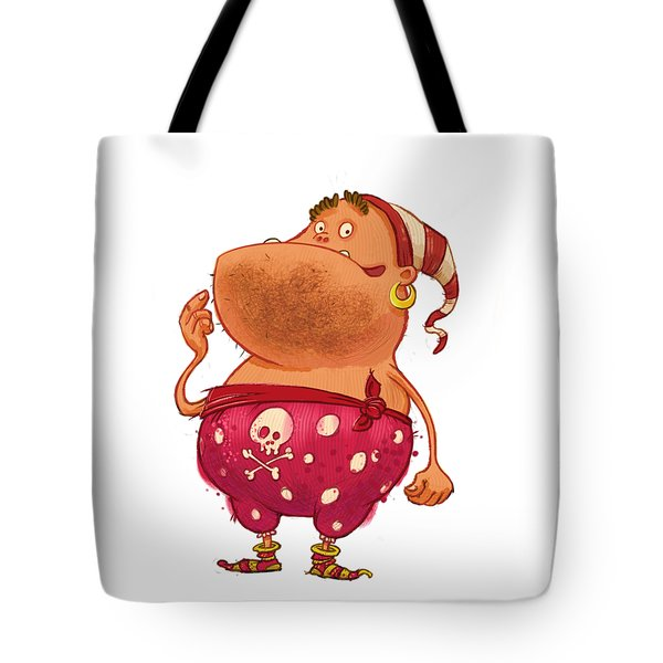 Pirate Thug Tote Bag