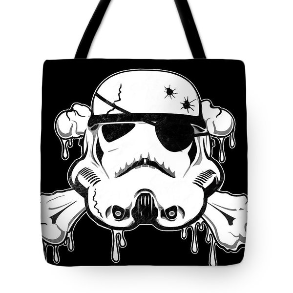 Pirate Trooper Tote Bag