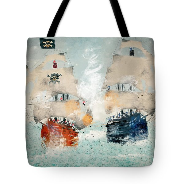 Pirates Ahoy Tote Bag
