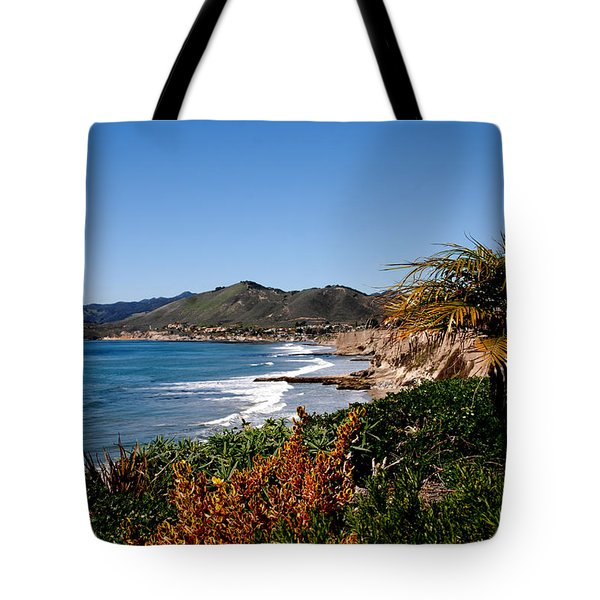 Pismo Beach California Tote Bag by Susanne Van Hulst