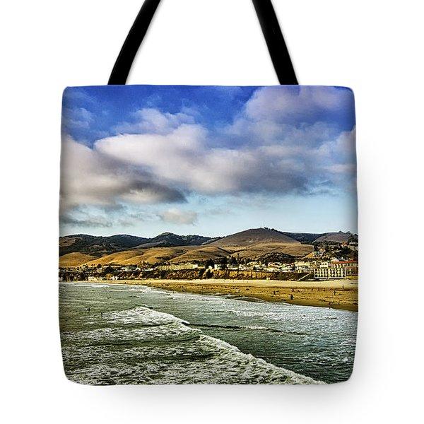 Pismo Beach View Tote Bag