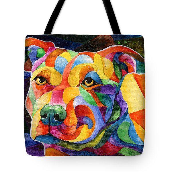 Pit Bull 1 Tote Bag by Sherry Shipley
