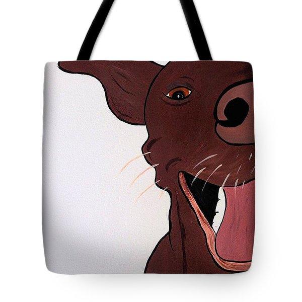 Pit Bull Kisses Tote Bag