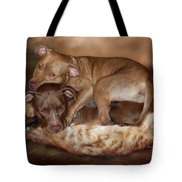 Pitbulls - The Softer Side Tote Bag