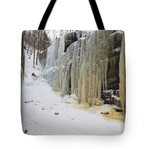 Pitcher Falls - Albany New Hampshire Tote Bag