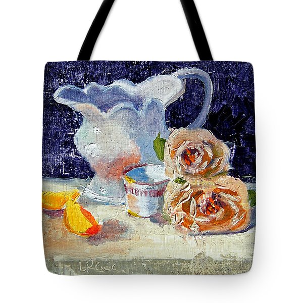 Pitcher Picture Tote Bag by Laurie Paci
