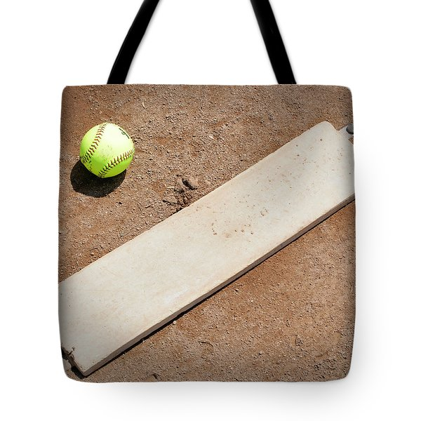 Pitchers Mound Tote Bag by Kelley King