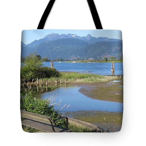Pitt River Tote Bag