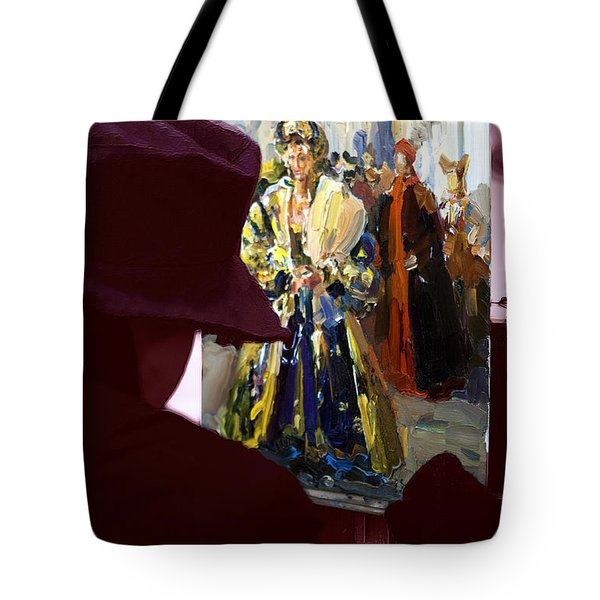 Pittore Di Venezia Tote Bag by John Rizzuto