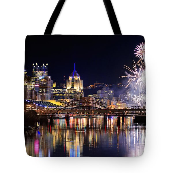 Pittsburgh 1  Tote Bag by Emmanuel Panagiotakis