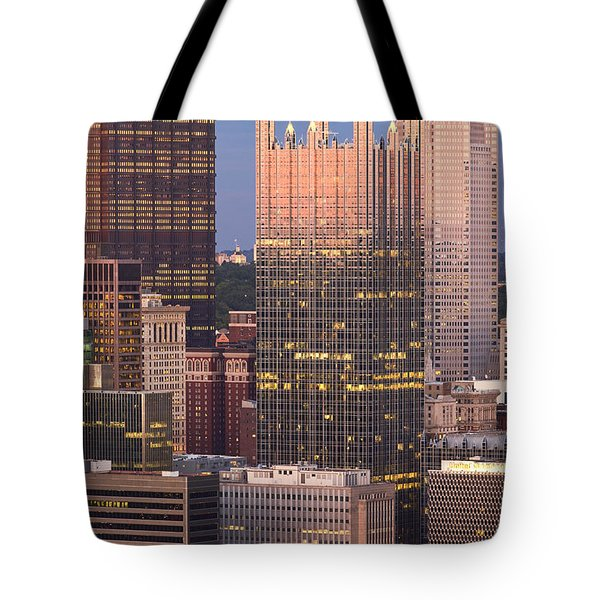 Pittsburgh 19  Tote Bag by Emmanuel Panagiotakis