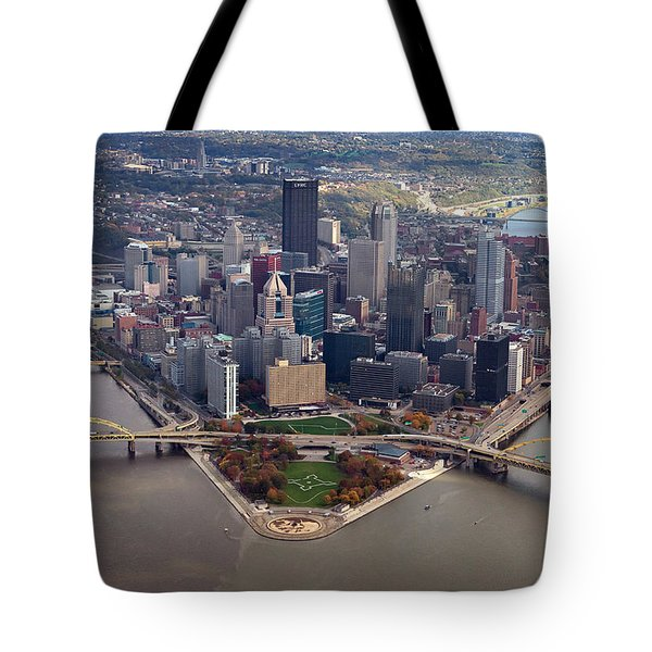 Pittsburgh 8 In Color  Tote Bag