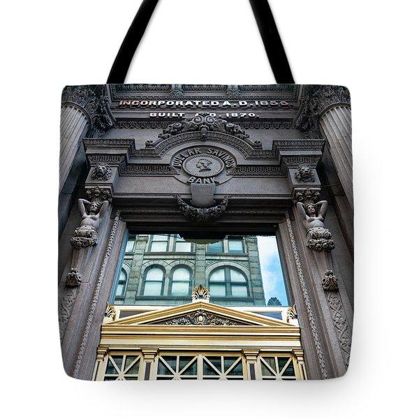 Pittsburgh Caryatids Tote Bag