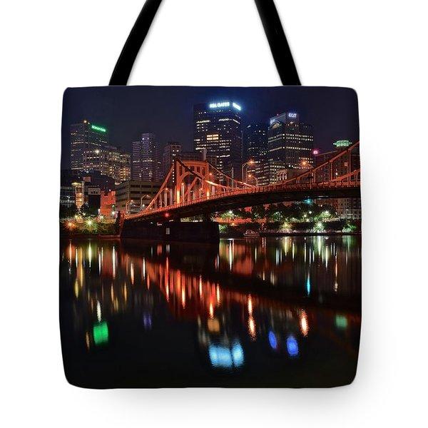 Pittsburgh Lights Tote Bag