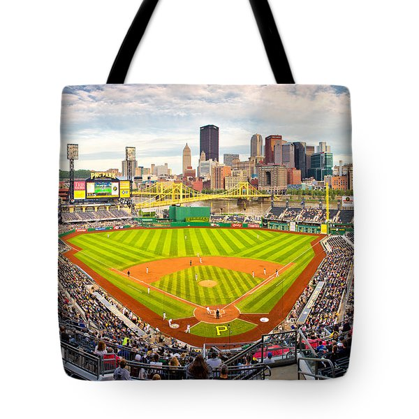 Pittsburgh Pirates  Tote Bag by Emmanuel Panagiotakis