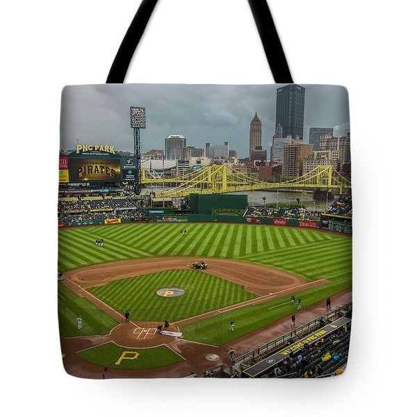 Pittsburgh Pirates Pnc Park 5569 Tote Bag
