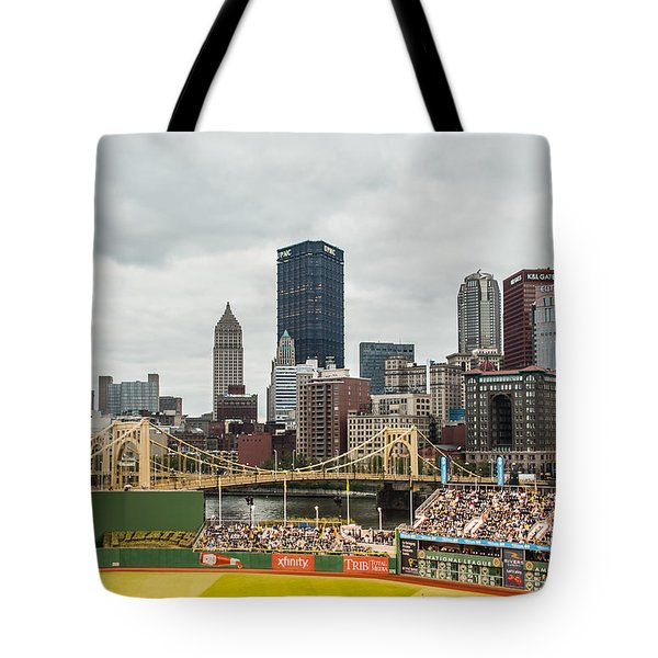 Tote Bag featuring the photograph Pittsburgh/pnc Park - 6986 by G L Sarti