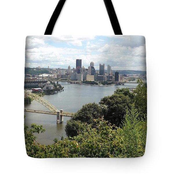 Pittsburgh Series 2  Tote Bag by Joyce Wasser