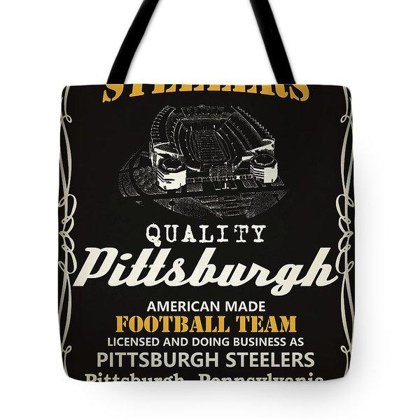 Pittsburgh Steelers Whiskey Tote Bag
