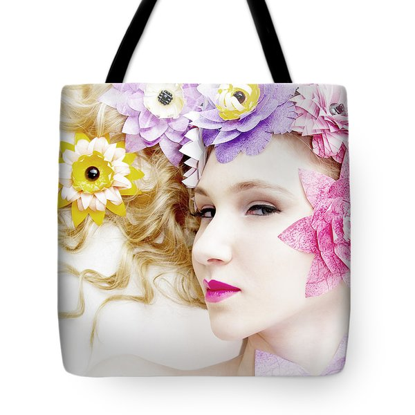 Tote Bag featuring the photograph Pixel Pixie by Gregg Cestaro