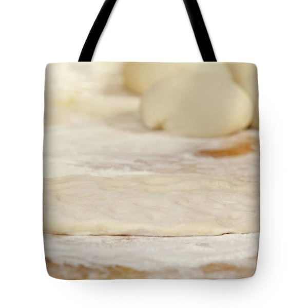 Pizza Beginnings Tote Bag