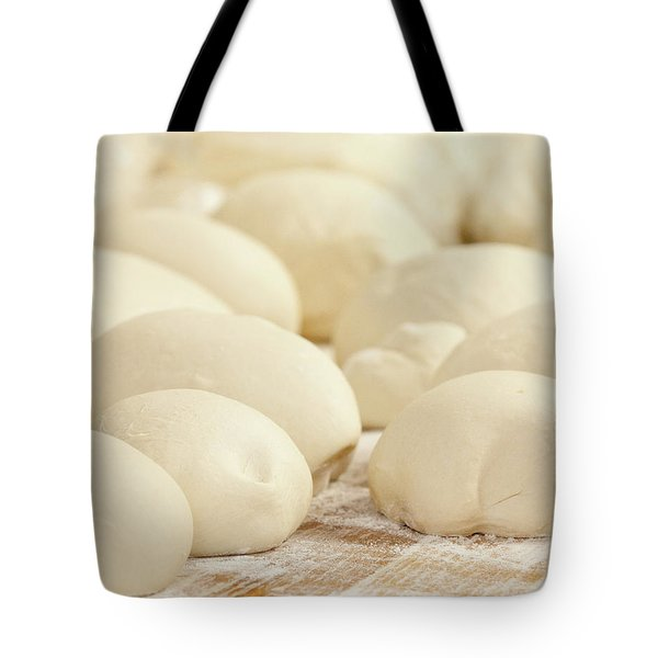 Pizza Dough Rising Tote Bag