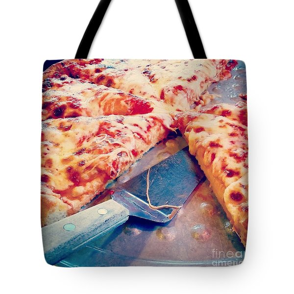 Tote Bag featuring the photograph Pizza by Raymond Earley